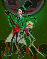Green and Greed by Piddies0709
