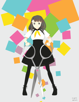 Gatchaman Crowds-Hajime by eight-bears