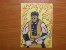 SCORPION sketch card by kylemulsow