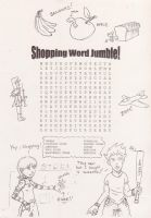 Worksheet - Shopping Word Find by ACGalaga