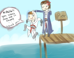 For my Altair by Brixyfire