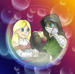 Bubble Children - Kae n' Lei by Wazaga