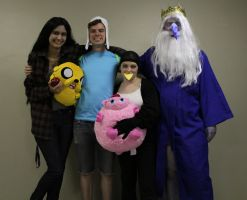 Adventure Time Gang! by medievalfaery