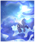Luna's Night by therainpony