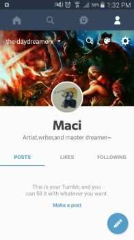 Mah new Tumblr  by MidnightShadow105
