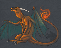 Whimsical Charizard by DemonML