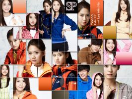 yoona wallpaper by SNSDartwork