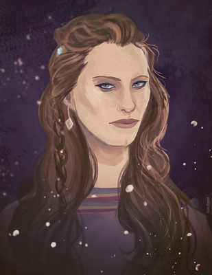 Queen Aslaug by Teagan-Aliss