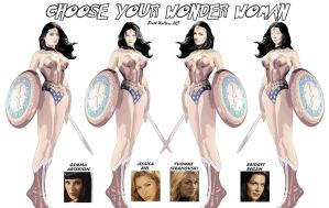 Choose your Wonder Woman by GeekTruth64