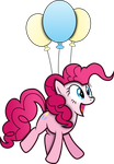 Pinkie Pie Flying by MrCbleck