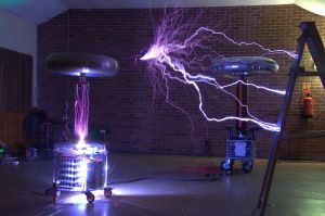When Tesla Coils Go wrong by teslaextreme