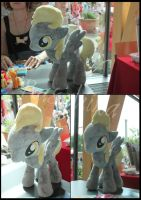 MLP:FiM Derpy Hooves plushie by Rasaliina