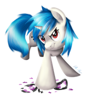 Vinyl Scratch by Tikonka
