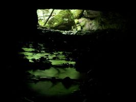 From a Cave by johntheperson