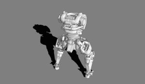 Mecha Concept WIP Update 2 by dematics
