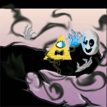 Bill and Gaster by Stinies