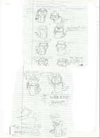 Doodles 2 part 1 by AskPewDie-The-Cat