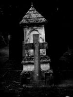Tomb and cross . by velar1
