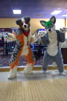Fursuit Bowling and RuzKelt's first appearance by Tychoaussie
