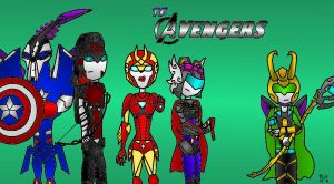 My familiy of Avengers xD by lytre98