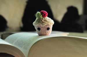 Baby Cupcake Amigurumi by ArtfullyArtless