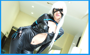 Felicia Hardy Black Cat - Spiderman Edge Of Time by HikariKosmaker