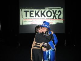Tekkocon Pic 30 - Alex and I by anime-fan-addict