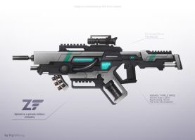 Assault rifle 1 by NightWong