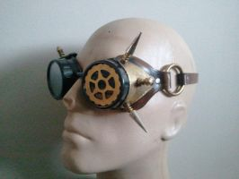 Steampunk Arc Goggles by Skinz-N-Hydez
