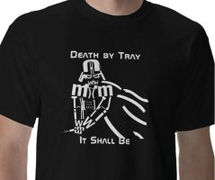 death by tray it shall be by Ar-Pharazon