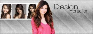 Victoria Justice cover by DesignCreationsOffi