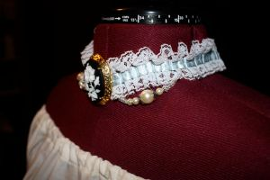 French Choker side view by EmeraldRose3
