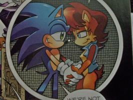 Another Sonic And Sally Moment by bvw1979