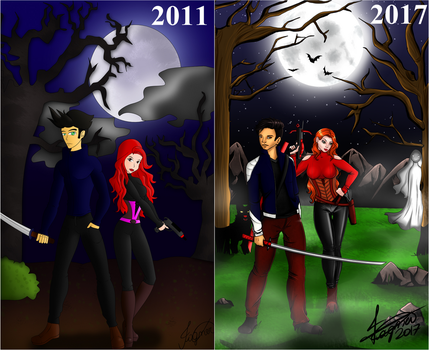 Supernatural Hunters - Draw This Again by Fagner1994