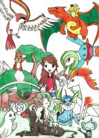 My DREAM Pokemon Party by katpann
