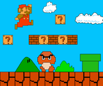 Mario 1-1 by Squirtlelover