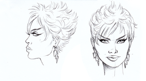 Storm Head Study by RanceWasHere