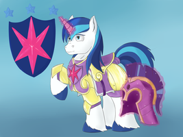 Shining Armor by UnicornSketch