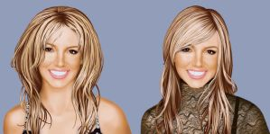 Commission Britney Spears by ShadCarlos
