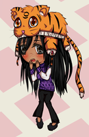 Commission: Chibi Full by willow-wishes