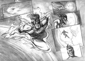 Everforce page 1 pencils by dfbovey