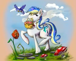 Sunny Day Picnic by Pimander1446