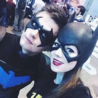 Nightwing and Batgirl by GraysonFin