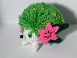 Shaymin Land Forme by black-moon-flower