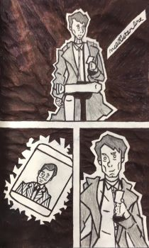 Jack Harkness and lanto by Mcallisterart