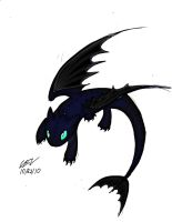 toothless by AniCyborg