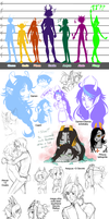 SKETCHDUMP - 2012 A Year in Fantrolls by blk-kitti