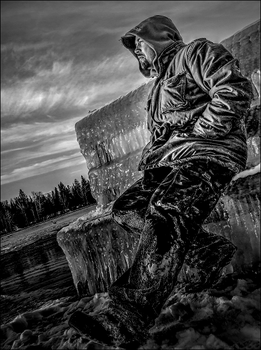 The Ice Man by wb-skinner