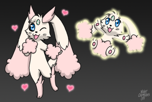 V has evolved into Lopunny! by Night-Chimeras-Cry