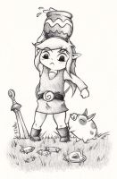 [LoZ:WW] Too much to do WIP by Mary1517